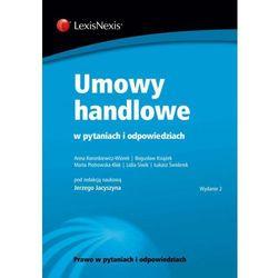 Umowy handlowe w pytaniach i odpowiedziach - Jerzy Jacyszyn (opr. miękka)