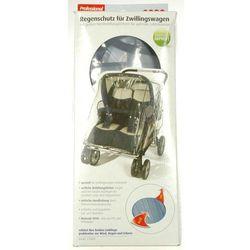 Folia przeciwdeszczowa na wózek podwójny szeroki