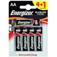 Baterie, 4+1 x bateria alkaliczna Energizer Alkaline Power LR6/AA (blister)