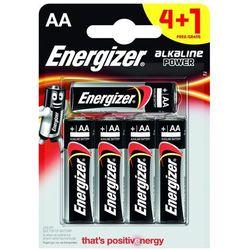 4+1 x bateria alkaliczna Energizer Alkaline Power LR6/AA (blister)