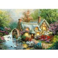 Puzzle, Puzzle High Quality Collection 1500: Country Retreat (31812). Wiek: 10+