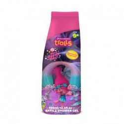 Trolls Bath & Shower Gel żel pod prysznic i płyn do kąpieli Raspberry 400ml