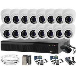 Zestaw do monitoringu: Rejestrator LV-XVR164N, 16x Kamera LV-AL1M2FDPWH, akcesoria