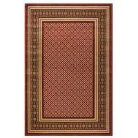 Dywany, Dywan APIUM czerwony 200 x 300 cm wys. runa 8 mm AGNELLA