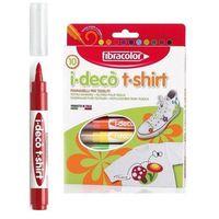Mazaki i flamastry, Mazaki dekoracyjne I-Deco T-shirt 10 kolorów