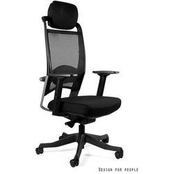 Fotel gabinetowy UNIQUE FULKRUM - skóra