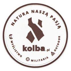 """Naszywka Patch Kolba """"Natura naszą pasją"""""""
