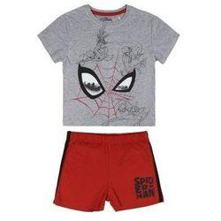 Disney piżama chłopięca Spiderman 110 szary/czerwony