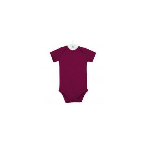 Body niemowlęce, Dziecięce body krótki rękaw bordo