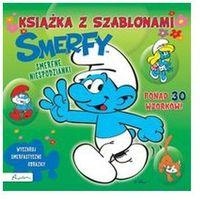Książki dla dzieci, Smerfy. Smerfne niespodzianki. Książka z szablonami - Praca zbiorowa (opr. miękka)