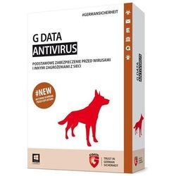 AntiVirus G Data 2015 KONT 1PC 1ROK BOX