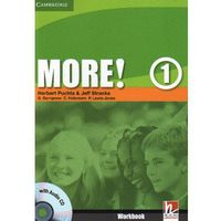 Książki do nauki języka, More! 1 Workbook with Audio CD Cambridge (opr. broszurowa)
