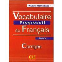 Książki do nauki języka, Vocabulaire Progressif Du Francais Niveau Intermediaire Klucz 2 Edycja (opr. miękka)