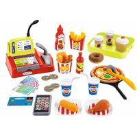 Pozostałe zabawki, Ecoiffier - zestaw szybkich przekąsek i akcesoriów