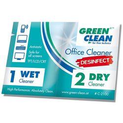 Green Clean zestaw ściereczek dezynfekujących mokra/sucha 10 szt.