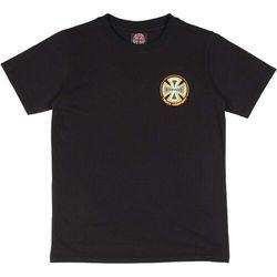 koszulka INDEPENDENT - Youth Spectrum Truck Co Tee Black (BLACK) rozmiar: 8-10