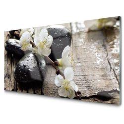 Panel Szklany Kwiaty Gałązka Owocowa