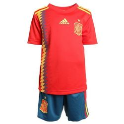 adidas Performance FEF SPAIN HOME MINIKIT SET Krótkie spodenki sportowe red/bogold