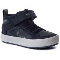 Półbuty i trzewiki dziecięce, Sneakersy GEOX - J Alonisso B. N J942CN 0FUAU C0661 M Navy/Grey