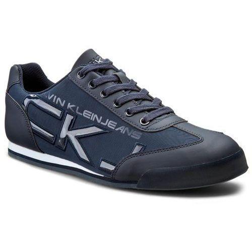 Półbuty męskie, Sneakersy CALVIN KLEIN JEANS - Cale SE8454 Navy