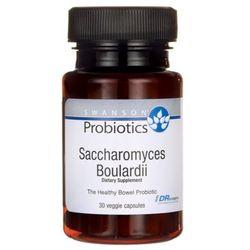 Swanson Probiotyk Saccharomyces Boulardii 30 vega kapsułek