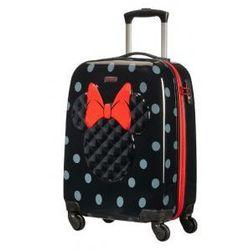 SAMSONITE walizka mała twarda 4 koła z kolekcji DISNEY ULTIMATE MINNIE ICONIC materiał ABS/ PC