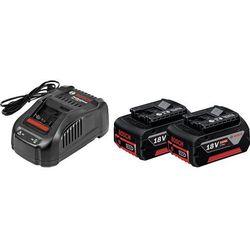 Akumulator BOSCH 2 x GBA 18V 5,0Ah + Ładowarka GAL 1880 CV
