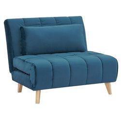 Fotel Rozkładany Billy Velvet Szary