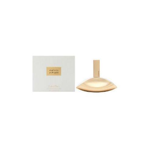 Wody perfumowane damskie, Calvin Klein Euphoria Pure Gold Woman 100ml EdP
