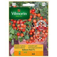 Nasiona, Pomidor karłowy BALCONI RED MIESZANIEC F1 nasiona tradycyjne 0.1 g VILMORIN