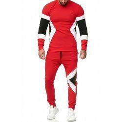 dres mĘski -czerwony 52009-3