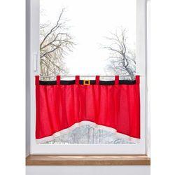 Zazdrostka w optyce bożonarodzeniowego płaszcza bonprix czerwony