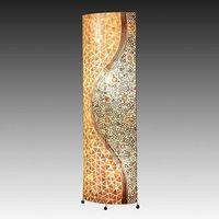Lampy stojące, GLOBO 25824 - Lampa podłogowa BALI 2xE27/60W