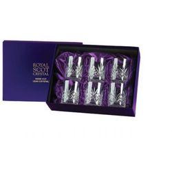 Royal Scot Crystal Szklanki Highland do Whisky 210ml 6szt Pres.B