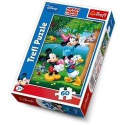 Puzzle Mickey Piknik Disney 22x33cm 60 dílků v krabici 14x21x4cm