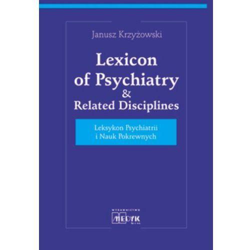 Książki medyczne, Lexicon of psychiatry & related disciplines (opr. twarda)