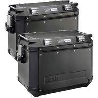 Kufry i bagażniki motocyklowe, Kufer boczny Givi Czarny 48 Litrów LEWY OBK48BL TRECKER OUTBACK