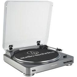 Gramofon Audio-technica AT-LP60-USB Srebrny