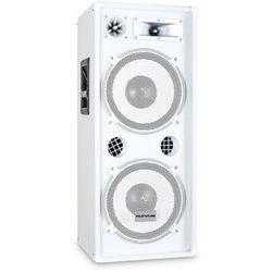 Kolumna PA Malone™ PW 2222 biały 2x30cm głośnik 1000W