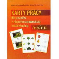 Jesień Karty pracy dla uczniów z niepełnosprawnością intelektualną (opr. broszurowa)