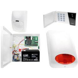 System alarmowy: Płyta główna CA-4 VP + Manipulator CA-4 VKLED + 1x Czujnik ruchu + Akcesoria