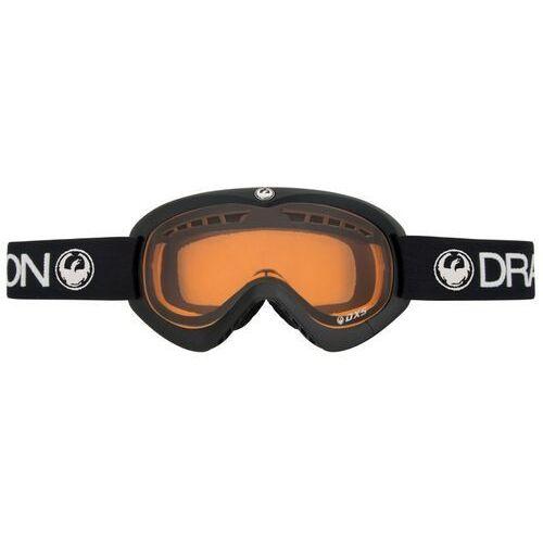 Kaski i gogle, gogle snowboardowe DRAGON - Dxs Coal Amber Coal (COAL) rozmiar: OS