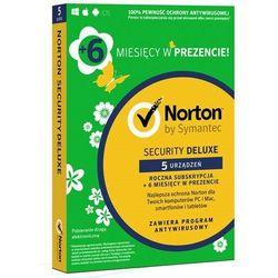Norton Security Deluxe 5 PC /18 miesięcy