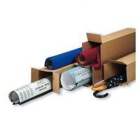 Przybory do pakowania, Tuba wysyłkowa kwadratowa, 3-warstwa, 1200x160x160 mm, 30 szt