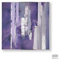 Obrazy, Obraz ręcznie malowany - Fioletowa harmonia 104015