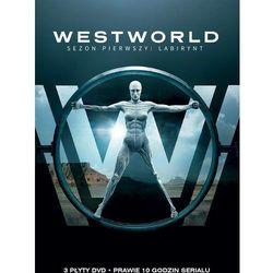 Westworld, Sezon 1 (DVD) - Jonathan Nolan DARMOWA DOSTAWA KIOSK RUCHU