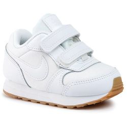 Buty NIKE - Md Runner 2 Flrl (Tdv) CD9467 100 White/White/Gum Light Brown