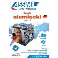Książki do nauki języka, Język niemiecki. Łatwo i przyjemnie. Tom 1 i 2. (B2) (2x książka, 4x CD) (opr. kartonowa)
