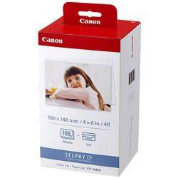 KP-108IN papier termosublimacyjny + folia Canon Selphy CP400