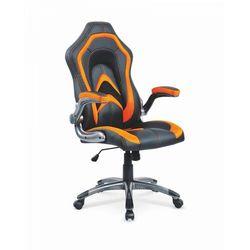 Fotel gamingowy COBRA czarno/pomarańczowy